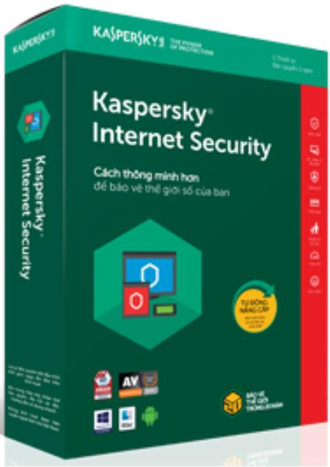 Anti-virus software Kaspersky Internet Security