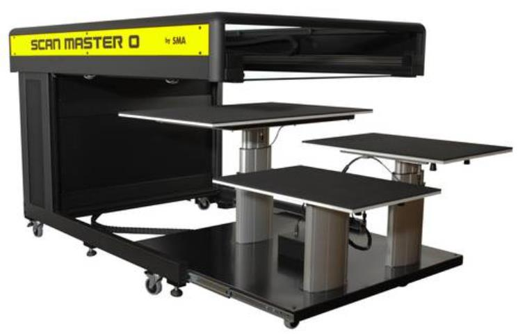Scan Master 0 3650 (A0) - Motorized Book Cradle 50cm